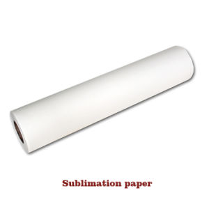 Quick Dry 100GSM Thermal Transfer Roll Sublimation Paper pictures & photos