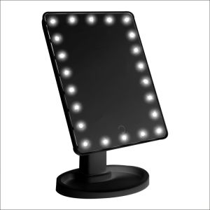 Large 16LED Mirror Standing Cosmetic&Makeup Mirror with LED pictures & photos