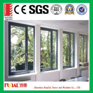 Aluminum Alloy Frame Sliding Window with Double Tempered Glass pictures & photos