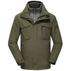 Rainproof Jacket for Men′s Wear with Warm and Windproof pictures & photos