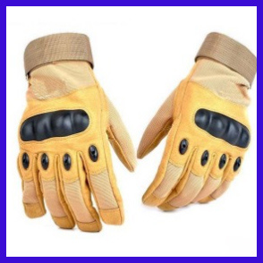 Outdoor Sports Full Finger Military Tactical Gloves (SYSG-1853) pictures & photos