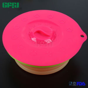 FDA Silicone Suction Lids and Food Covers for Cups, Bowls, Pans or Containers pictures & photos