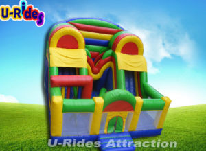Wholesale Inflatable Combo Obstacle Inflatable Playground With Slide For kids pictures & photos