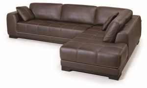 Modern Leather Sofa Set (TG-AH61) pictures & photos