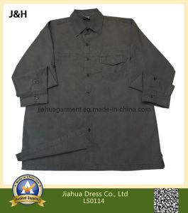 2014 Mens Blank/Plain Casual Long Sleeve Shirt