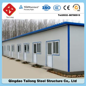 Low Cost Certificated Fast Supplier Steel Structure House pictures & photos