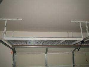 china overhead garage storage rack metal shelving metal storage racks for costco china. Black Bedroom Furniture Sets. Home Design Ideas