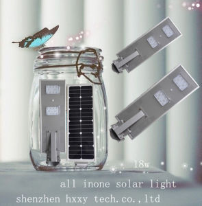 20W Hot Selling Solar Road Lightintegrated Solar Street Light pictures & photos