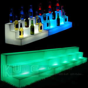Outdoor Polyethelene LED Furniture LED Wine Display pictures & photos