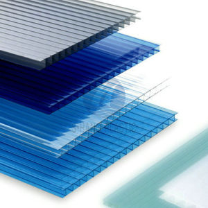 SGS Proved Twin-Wall Polycarbonate Sheet with UV Protection pictures & photos