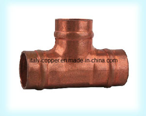 Customized Quality Copper Equal Solder Tee (AV8049) pictures & photos