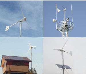 2000W 48/96V AC Horizontal Axis Wind Driven Generator with Controller/Inverter pictures & photos