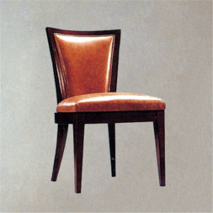 2014 Hotel Modern Classical Fabric Leather Furniture Arm Dining Chair
