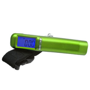 50kg LCD Backlight Display Luggage Scale with Ce Certificate pictures & photos