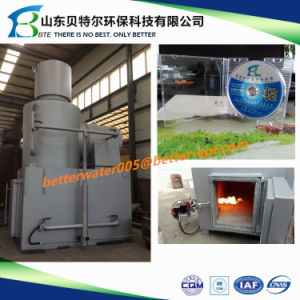 Wfs-50 Solid Waste Incinerator, Medical Waste Burning Incinerator pictures & photos