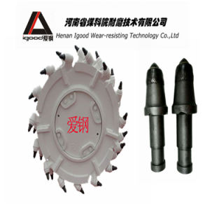 Shank Trench Cutting Bi Tungsten Carbide Trenching Tools Coal Cutter Tooth/Coal Mining Tool/Round Teeth pictures & photos
