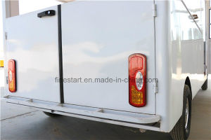Movable Restaurant Car Food Car with Fried Pan and Refriger pictures & photos