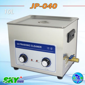 Metal Parts/Silver Products Ultrasonic Cleaner with Heating 10L pictures & photos