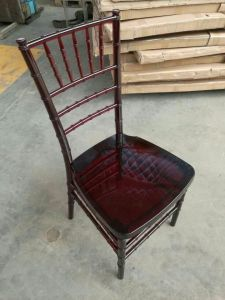 Mahogany Resin Chiavari Chair, PC Tiffany Chair for Events pictures & photos