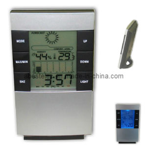Weather Forecast LCD Clock