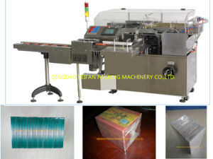 Automatic Medicine Box Cellophane Overwrapping Machine with PLC Control pictures & photos