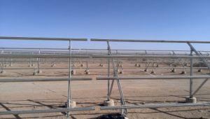 Solar Panel Bracket for Concrete Pile pictures & photos