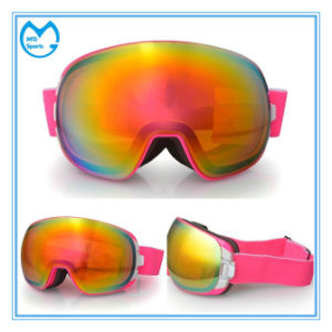 Polarized OTG Frameless Interchangeable Lens Skiing Snow Goggles pictures & photos