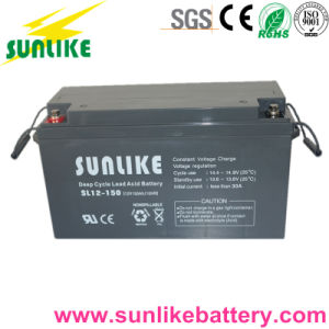 Rechargeable Lead Acid Solar UPS Battery 12V150ah for Power Supply pictures & photos