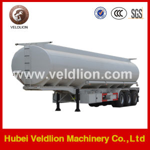 China Fuel/Oil Tank Semi Trailer 3 Axle with Leaf Spring Suspension pictures & photos