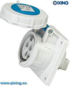 IP67 International Standard Waterproof Panel Socket (QX218) pictures & photos