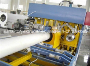 High Quality-Plastic PVC Pipe Extrusion Production Machine China Manufacturer pictures & photos