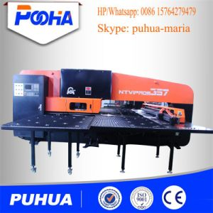 Low Price CNC Turret Punching Machine for Steel Plate pictures & photos