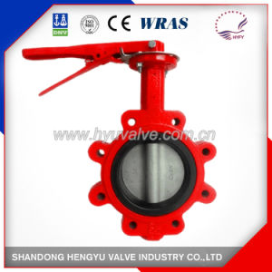Backseated Type Industrial Butterfly Valve with Mellable Iron Handle pictures & photos