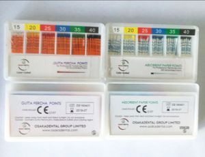 Absorbent Paper Point Depth mm Marked for Dental Material Filling Use Osa pictures & photos