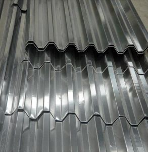 Aluminum Corrugated Sheet with Trapezoidal Wave pictures & photos