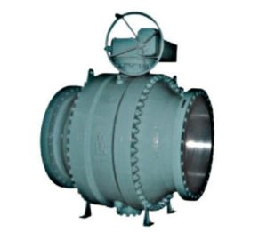 API 6D Cast Trunnion Mounted Ball Valve