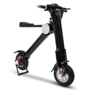 13 Inch 22.5kg 250W Black Lightweight Folding Mobility Scooter pictures & photos