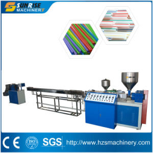One Color Drinking Straw Making Machine pictures & photos