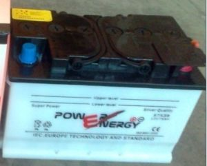 DIN75W 12V75ah Dry Charged Storage Lead Acid Car Battery pictures & photos