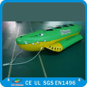 Inflatable Green Crocodile Boat for Water Games (E-WAT-14) pictures & photos