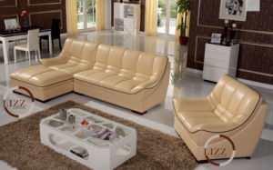 Amercian Style High Quality Leather Coner Sofa pictures & photos