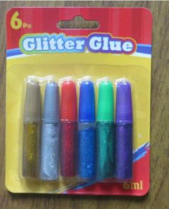 6ml Glitter Glue 6PCS Blister Packing pictures & photos