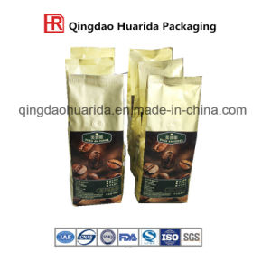 Matte Finished De-Metalized Coffee Food Zipper Bags with Customer Design pictures & photos