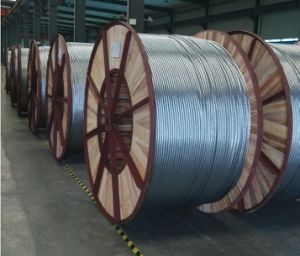 Acs Aluminum Clad Steel Strand Wire for Electric Conductor Overhead Ground Wire pictures & photos