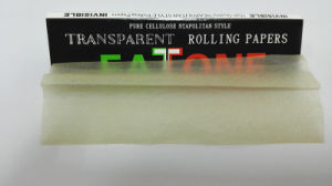 Clear Hemp Rolling Paper for Smoking pictures & photos