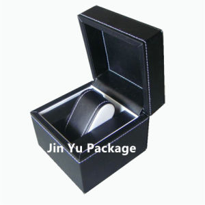 Luxury Black Leather Watch Packaging Storage Packaging Case Box pictures & photos