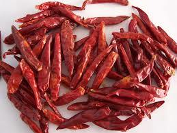 Dry Chili of Red Color