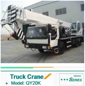 2016 New 20ton Truck Crane Qly20 with Best Price