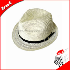 Paper Straw Fedora Hat Straw Paper Hat pictures & photos