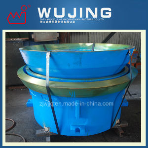 Mining Equipment High Manganese Steel Casting Mantle and Concave Spare Parts for Crusher